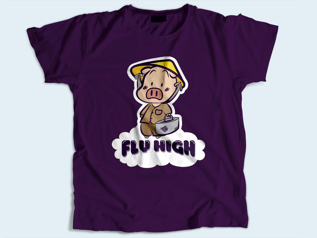 Áo thun Fly High