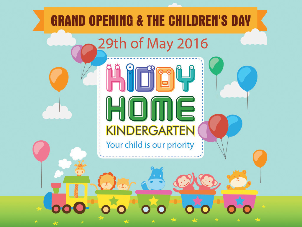 Banner Kiddy Home