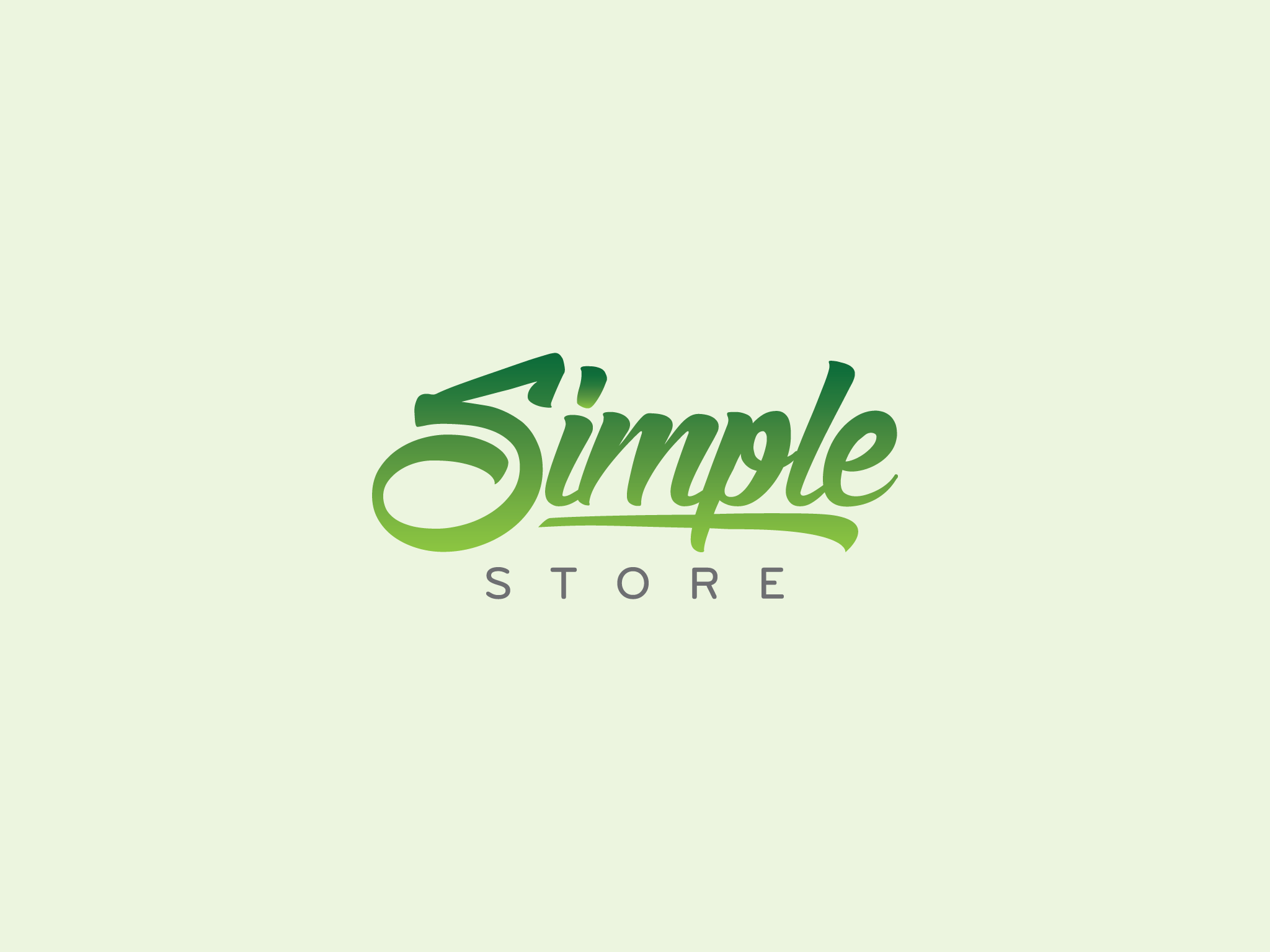 Logo Simple Store