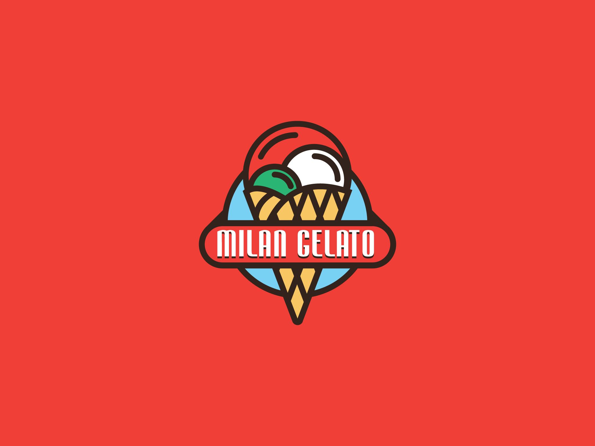 Logo Milan Gelato