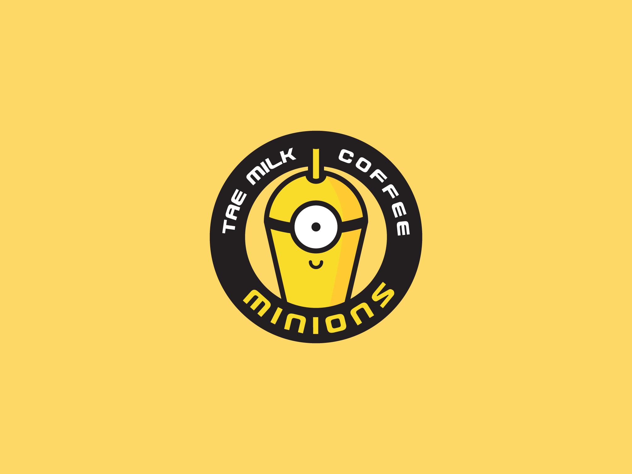 Logo Minions Coffee
