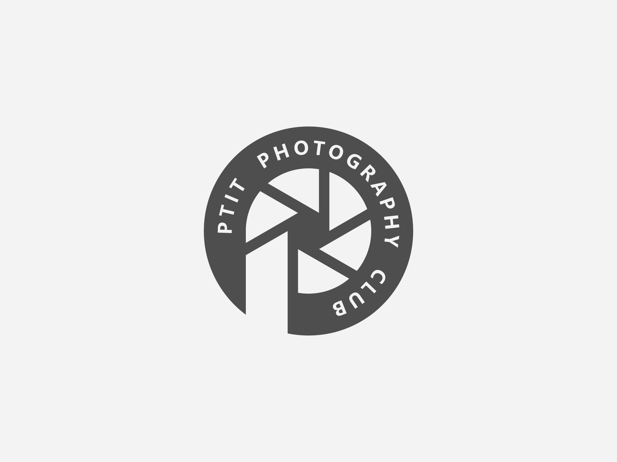 Logo PTIT Photography Club