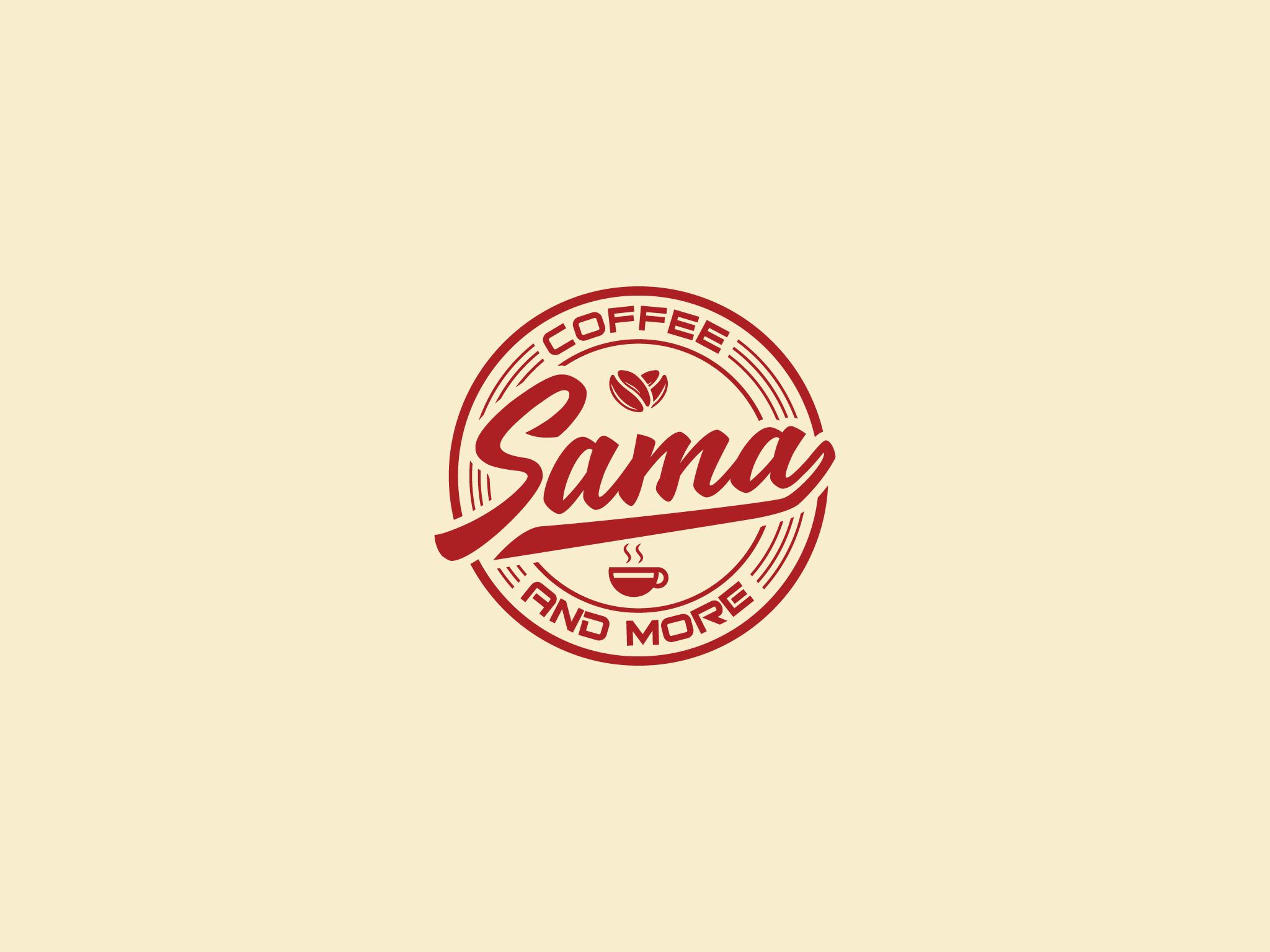 Logo Sama Coffee