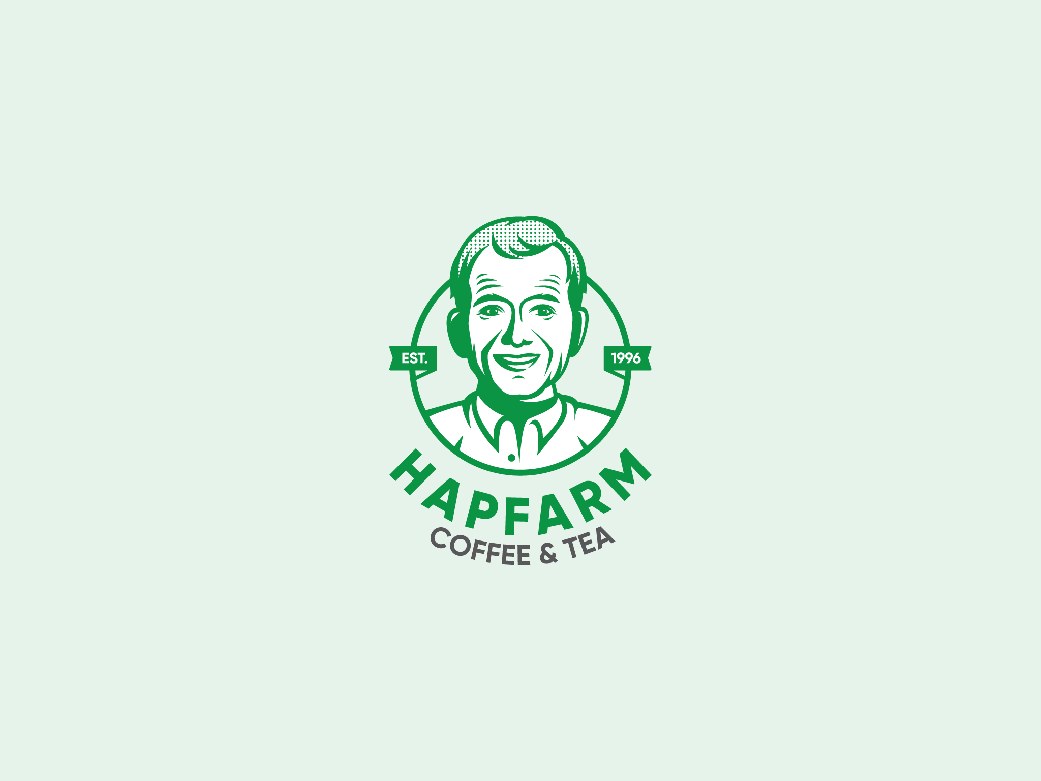 Logo HAPFARM Coffee & Tea