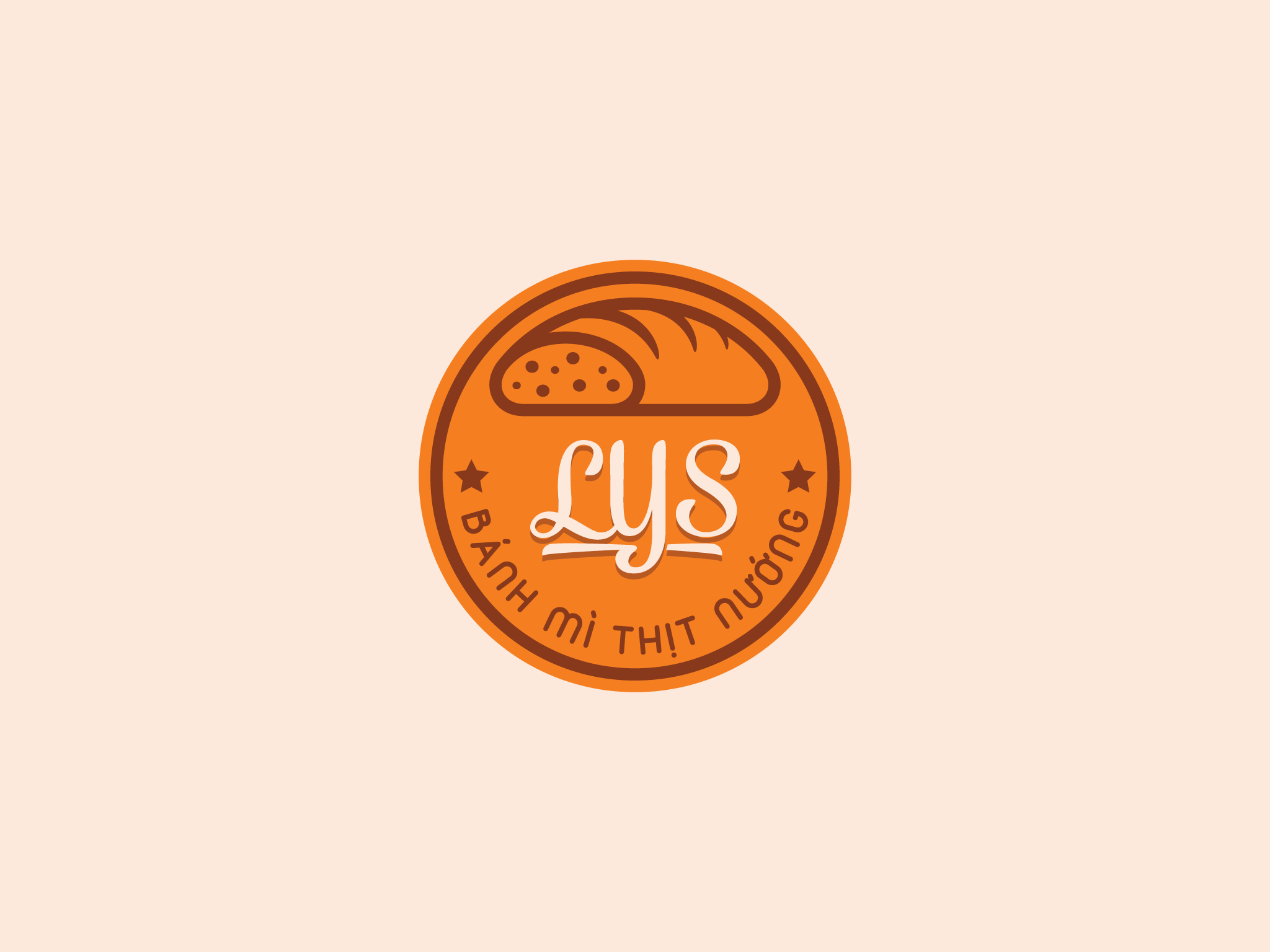 Logo Bánh Mì Thịt Nướng LYS