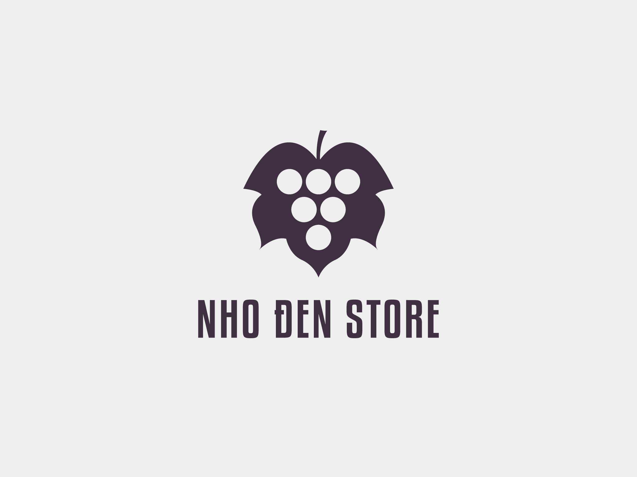 Logo Nho Đen Store