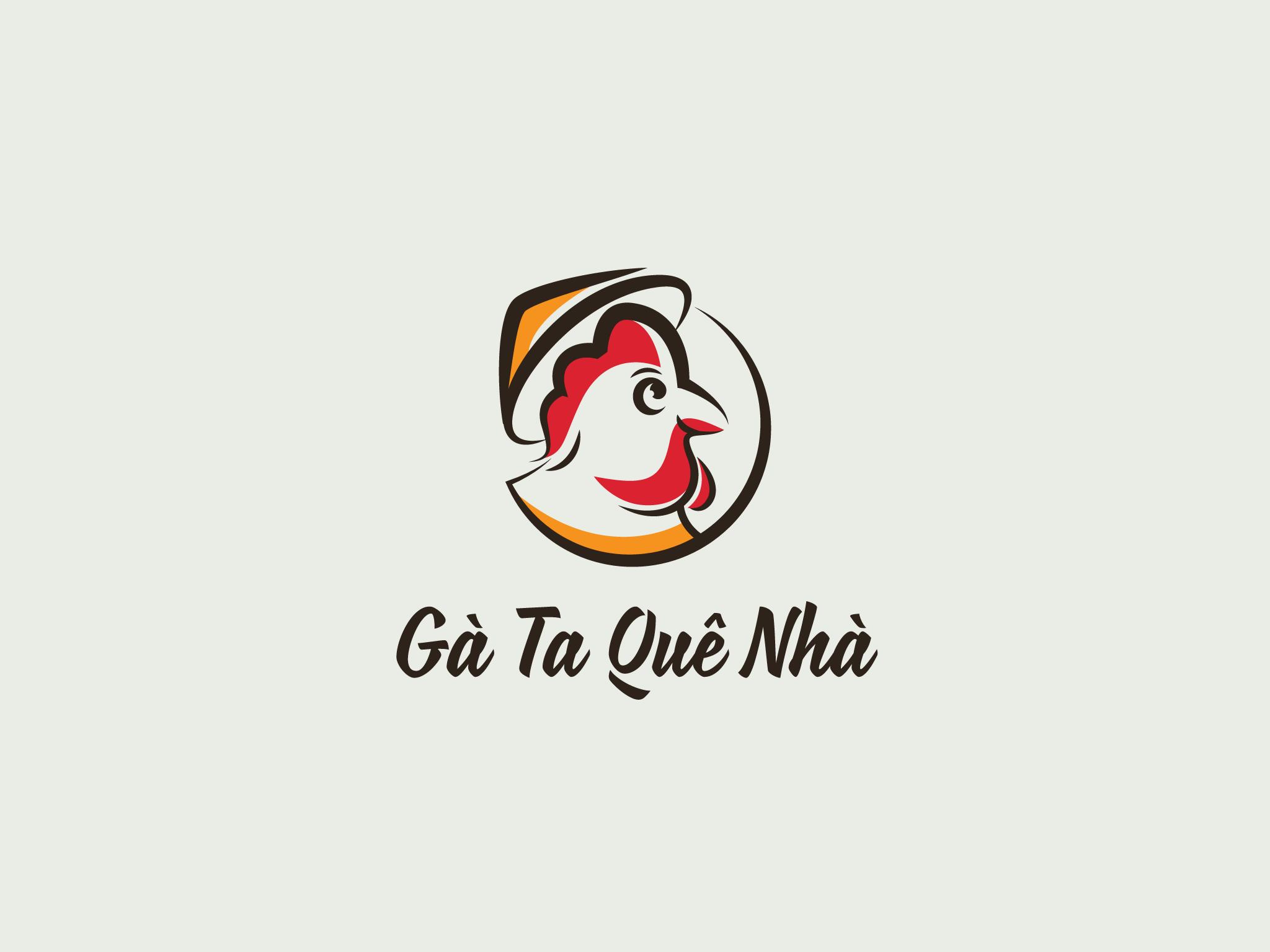 Logo Gà Ta Quê Nhà