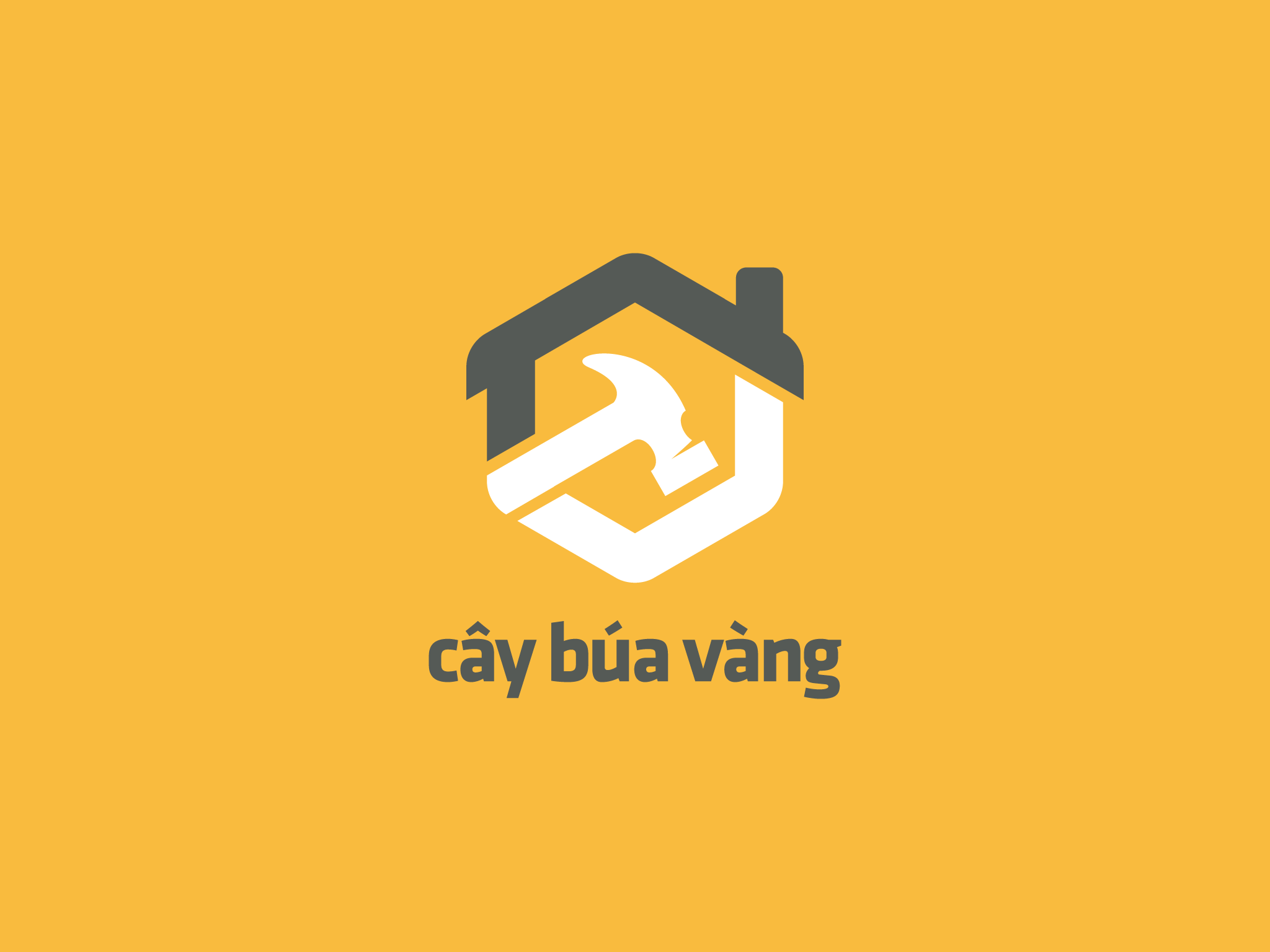 Logo Cây Búa Vàng