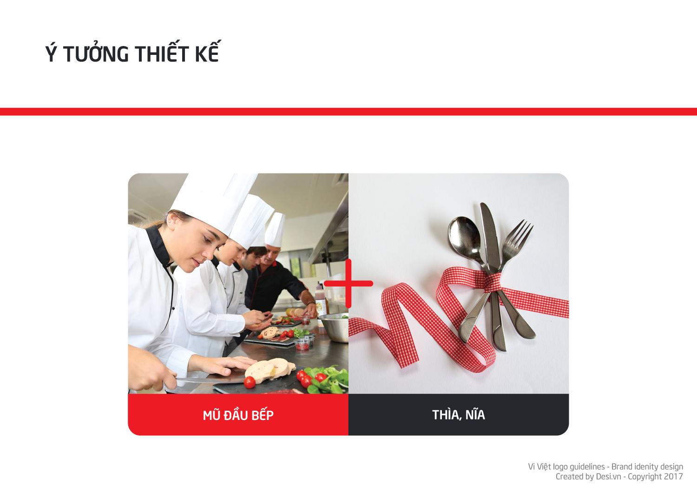 hệ quy chuẩn logo đầu bếp