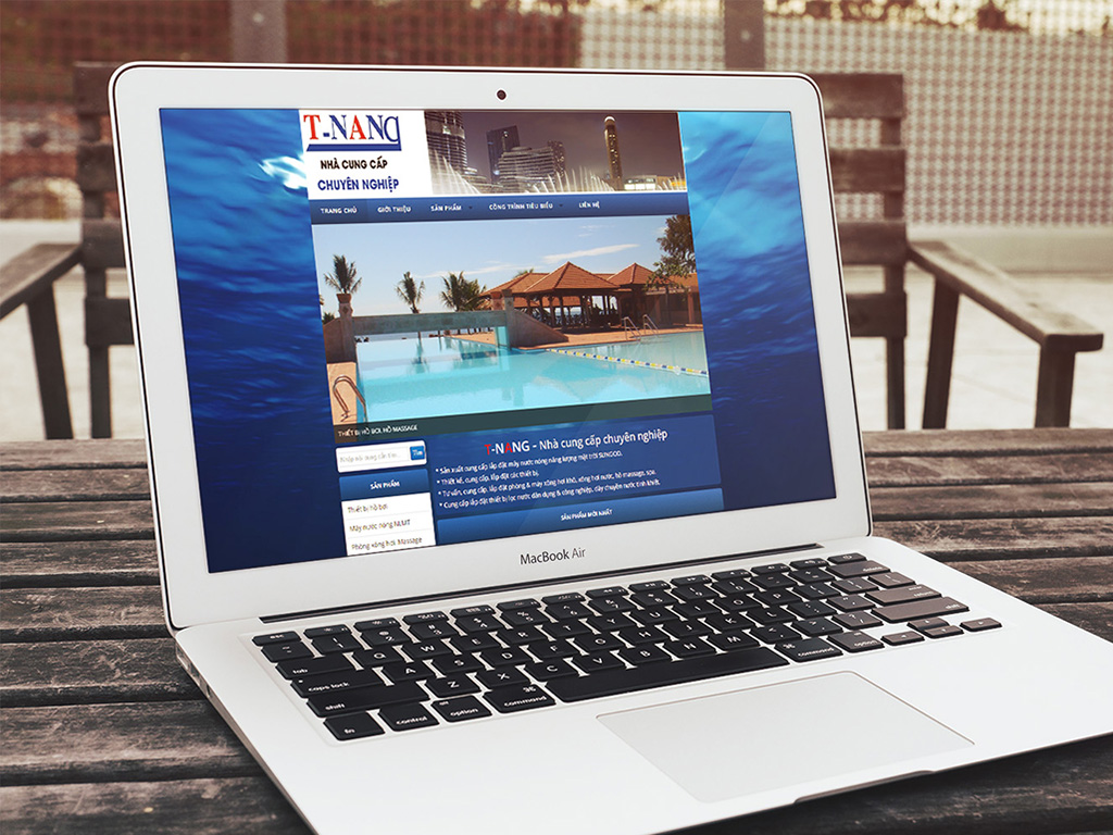 Website Thủy Năng